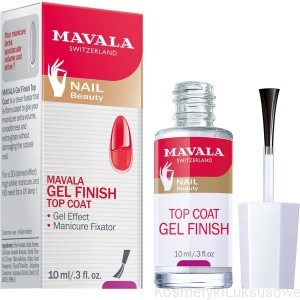 MAVALA GEL FINISH TOP COAT - ŻELOWY TOP COAT