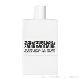 Zadig&Voltaire - THIS IS HER Perfumowany Żel Pod Prysznic 200 ml
