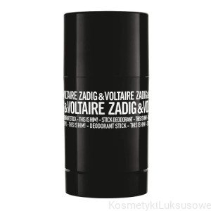 Zadig&Voltaire - THIS IS HIM dezodorant w sztyfcie 75 gr