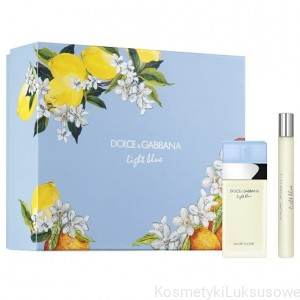 DOLCE&GABBANA  Light Blue EDT ZESTAW