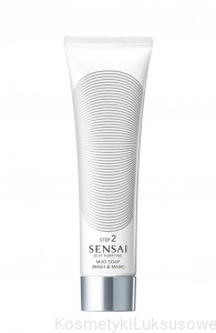 SENSAI SILKY PURIFYING MUD SOAP (WASH & MASK) - 125ml